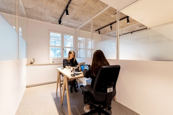 Bureau mutipostes Coworking - The Babel Community Montpellier