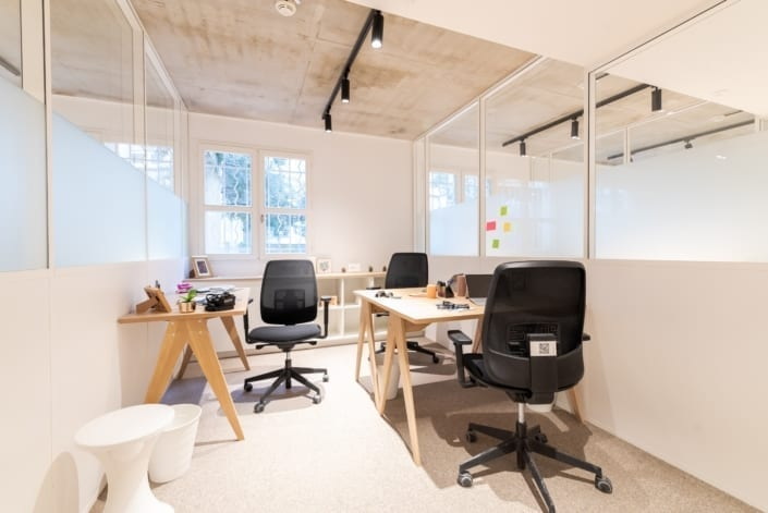 Bureau Multipostes Coworking - The Babel Community Montpellier